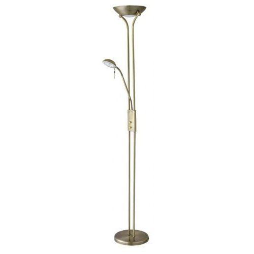 Lampa stojąca podłogowa beta 1x230w r7s+ 1x40w g9 brązowy 4076 marki Rabalux
