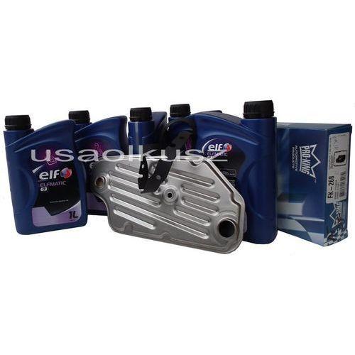 Filtr oraz olej mercon-iii automatycznej skrzyni a4ld ford bronco 4x4 marki Elf