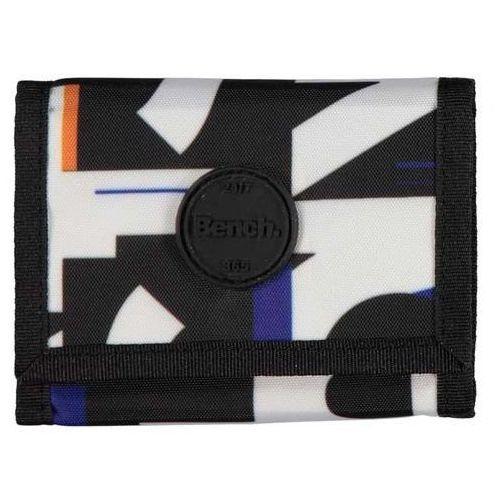 - aop tri-fold wallet black beauty (bk11179) rozmiar: os marki Bench