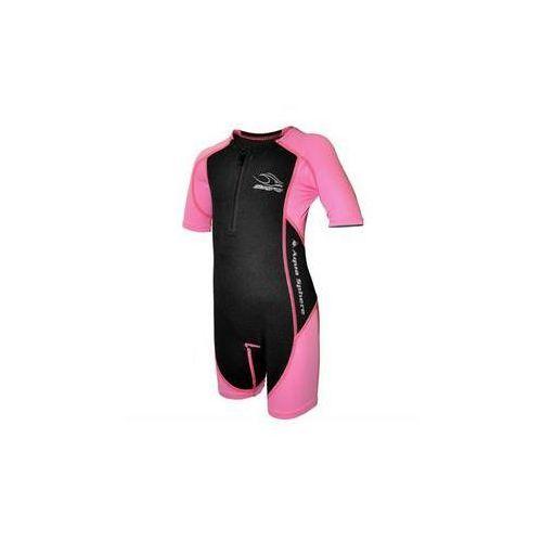 Strój kąpielowy Aqua Sphere Stingray S - 4 lata - dziecięcy Różowy, kolor różowy