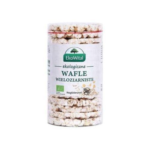 Wafle wieloziarniste bez soli bezglutenowe bio marki Eko wital