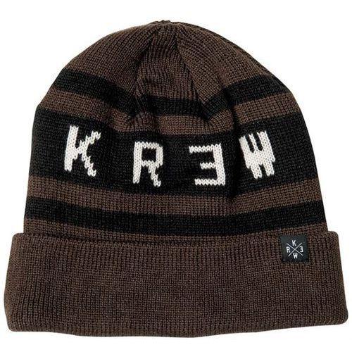 czapka zimowa KREW - Winstone Beanie Olive/Black (DRB)