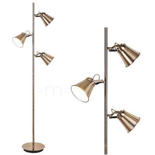 Stojąca LAMPA podłogowa MARTINA 4194 Rabalux metalowa OPRAWA reflektorki industrialne regulowane brąz (5998250341941)