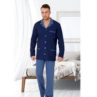 Piżama roman 270 dł/r m-2xl m, jeans, m-max marki M-max