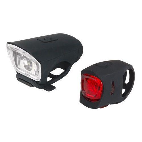 Just one zestaw lampek rowerowych vision 2.0 set (8592201501643)