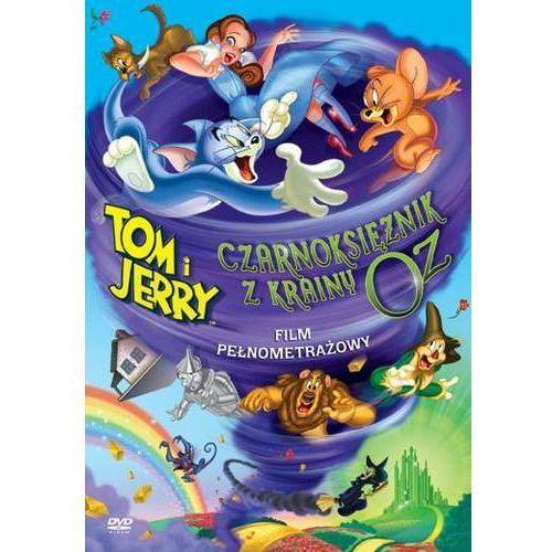 Galapagos Tom i jerry: czarnoksiężnik z krainy oz (dvd) (7321909306905)