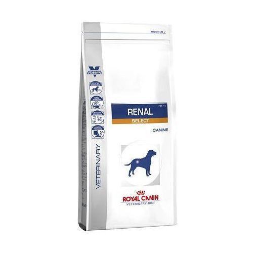 Royal canin vet dog renal select 2x10kg tani zestaw