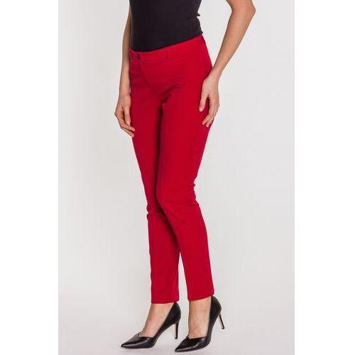 Czerwone spodnie w kant - marki Metafora