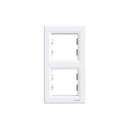 Schneider Asfora ramka podwójna pionowa biała eph5810221