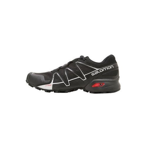 Salomon SPEEDCROSS VARIO 2 Obuwie do biegania Szlak black/silver metallic (0889645565330)