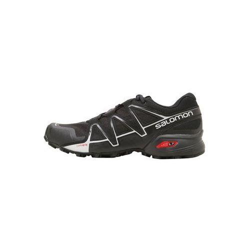 Salomon SPEEDCROSS VARIO 2 Obuwie do biegania Szlak black/silver metallic, kolor czarny