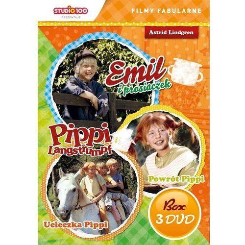 Pippi Langstrumpf/Emil ze Smalandii 3 (BOX 3DVD) (5905116620225)