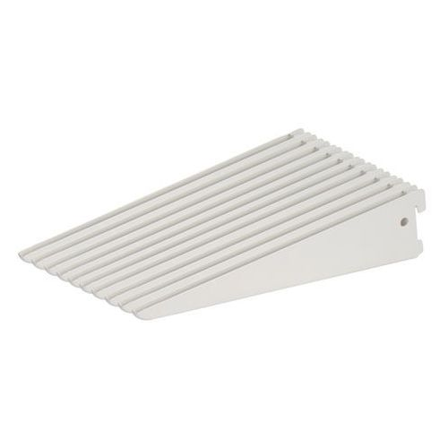 Wspornik podwójny Form Twinny 17 cm biały 10 szt. (3663602767039)