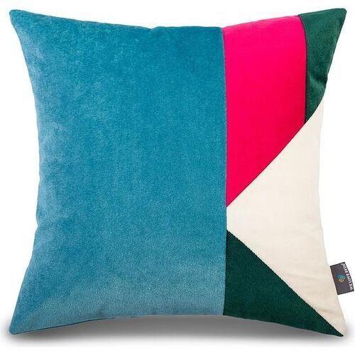 Welurowa poszewka na poduszkę madrid, kwadratowa - marki We love beds