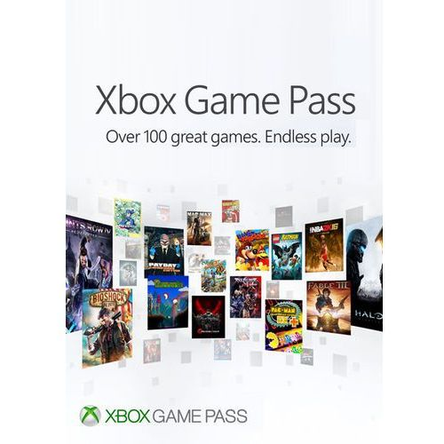 Microsoft Xbox game pass 1 month key