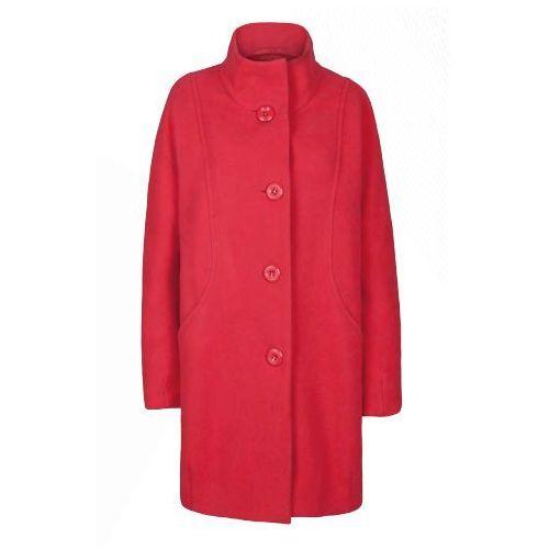 Płaszcz z tkaniny wełnianej 5510 (Kolor: żółty, Rozmiar: 42), VV/O/5510