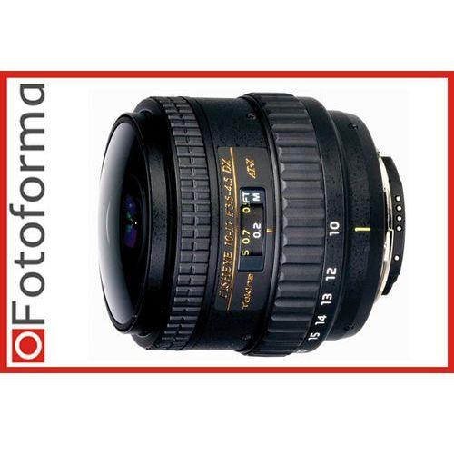 Tokina Obiektyw  10-17 mm f/3.5-4.5 at-x nh fisheye (nikon), kategoria: obiektywy fotograficzne