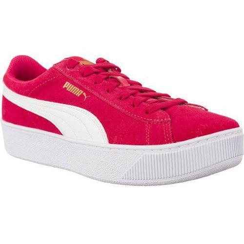 reputable site 9707c 89dd7 Damskie obuwie sportowe · Wygodne Fioletowo-Różowe Sneakersy VIKKY PLATFORM  PARADISE PINK PUMA WHITE, kolor fioletowy