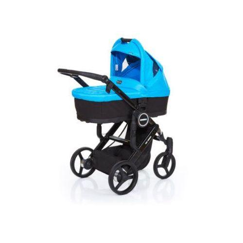 wózek dziecięcy mamba plus black-water, stelaż black / siedzisko black marki Abc design