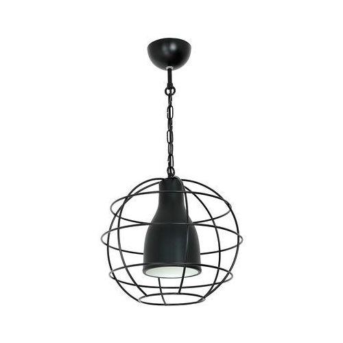 Lampa wisząca single 6 7281 lampa sufitowa druciana 1x60w e27 czarny marki Luminex