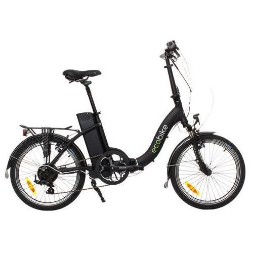 Ecobike Rower elektryczny even czarny + darmowy transport!