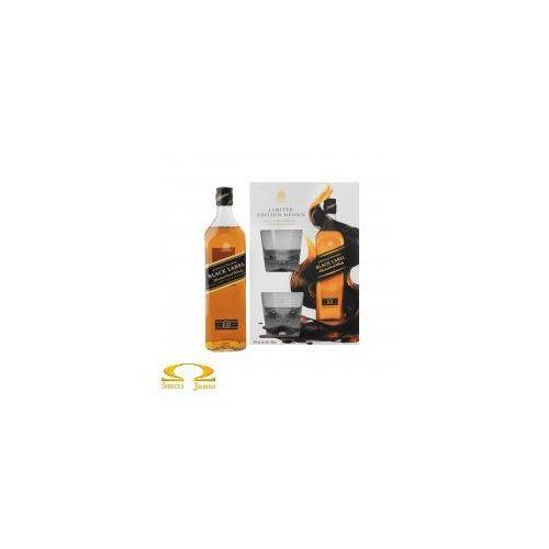 Whisky Johnnie Walker Black Label 0,7l Limitowana Edycja + 2 szklanki