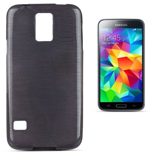 """Forcell """"jelly brush samsung galaxy s5 / galaxy s5 neo"""" (black)"""
