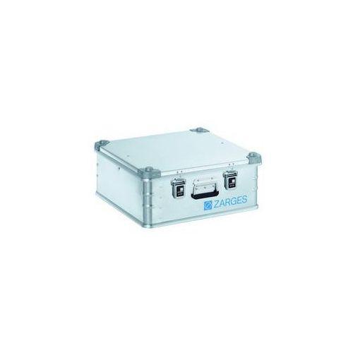 Zarges Aluminiowa skrzynka transportowa,poj. 67 l, dł. x szer. x wys. wewn. 550 x 550 x 220 mm