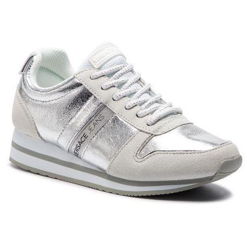 Sneakersy jeans - e0vtbsa1 70941 900, Versace, 35-41