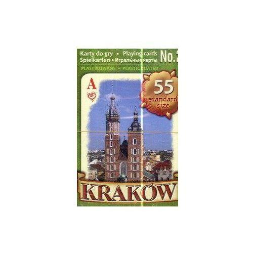Kraków/karty do gry/nr 2/zielone/pojedyncza talia/ (5900308515020)
