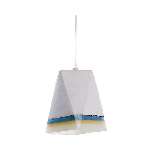 Beliani Lampa szara - sufitowa - żyrandol - lampa wisząca - mabel