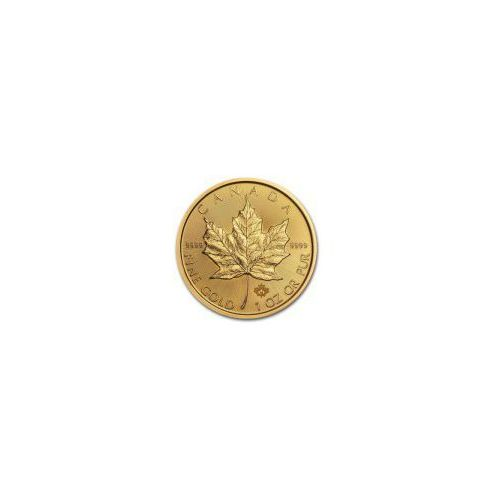 1 uncja Kanadyjski Liść Klonu - Złota Moneta - Dostawa 14 dni