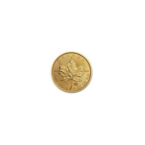 1 uncja Kanadyjski Liść Klonu - Złota Moneta - Dostawa 14 dni z kategorii Numizmatyka, filatelistyka