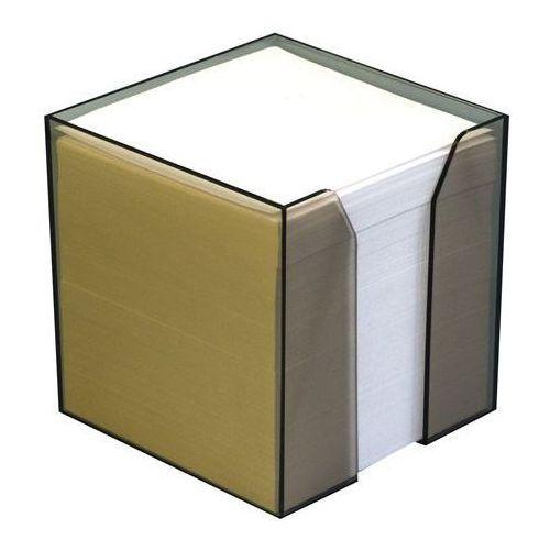 Kostka papierowa nieklejona pojemnik Idest 8x8/800k. biała