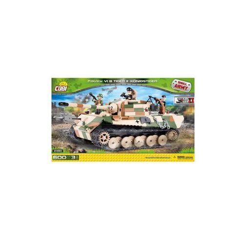 Klocki Cobi Czołg Tiger II PzKpfw VI B Königstiger niemiecki