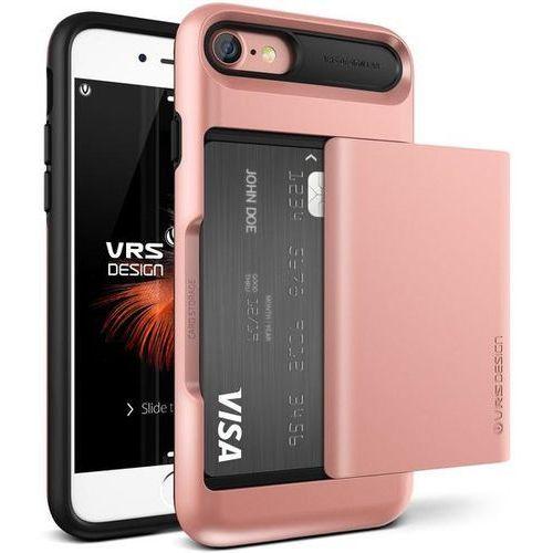 Etui VRS DESIGN Damda Glide do iPhone 7 Różowo-złoty (8809477682687)