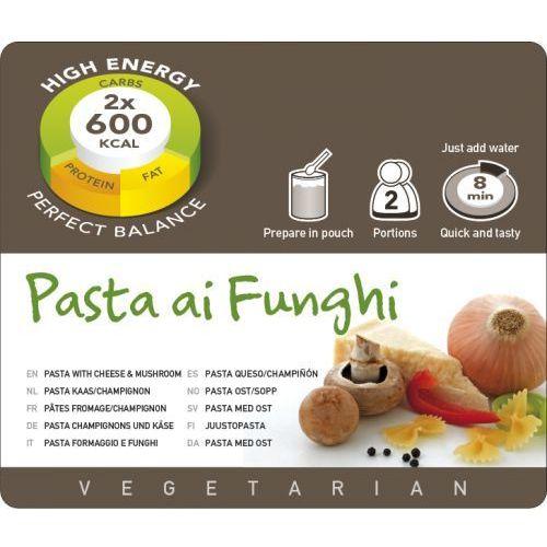 Adventure food pasta ai funghi żywność kempingowa podwójna porcja posiłki wegetariańskie (8717624622359)