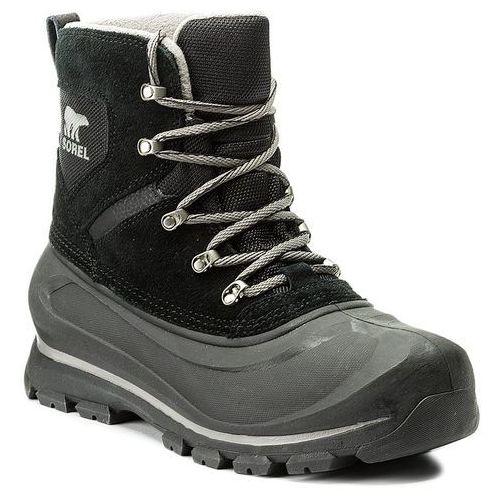 Śniegowce SOREL - Buxton Lace NM2737 Black/Quarry 010, kolor czarny