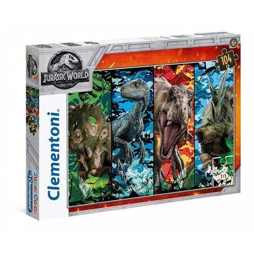 Puzzla 104 Supercolor Jurassic World, 1_649404