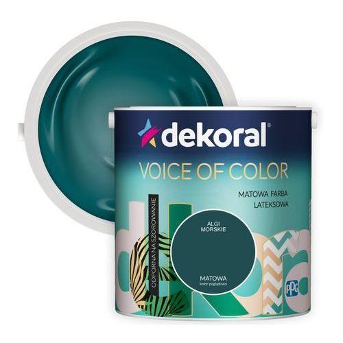 Farba Dekoral Voice of Color algi morskie 2,5 l, 421628