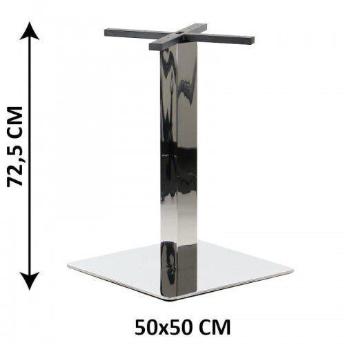 Stema - sh Podstawa stolika sh-3002-6/p, 50x50 cm, stal nierdzewna polerowana (stelaż stolika)