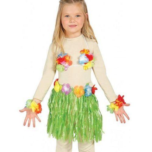"""Zestaw hawajski dla dziewczynki """"Hawaii Party"""" zielony (8434077176528)"""