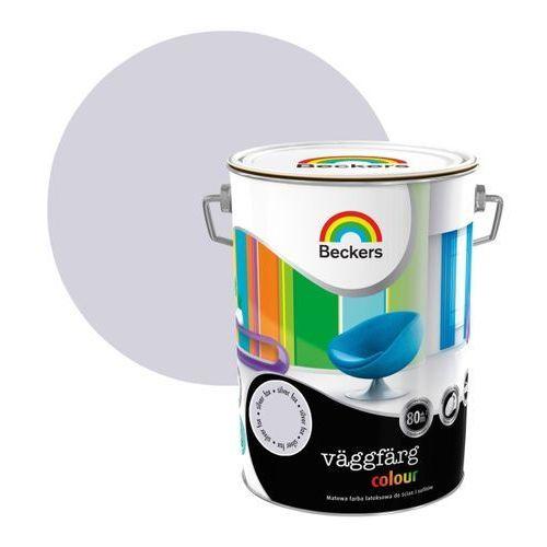 Farba lateksowa Beckers Vaggfarg Colour silver 5 l