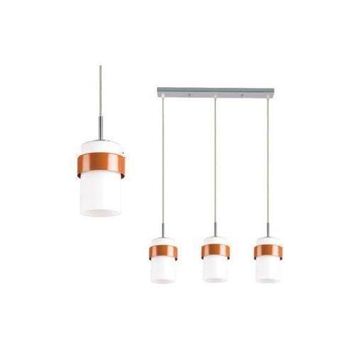 Light prestige Lampa wisząca miele lp-866/3p po sufitowa oprawa zwis listwa tuby białe pomarańczowe (1000000118070)