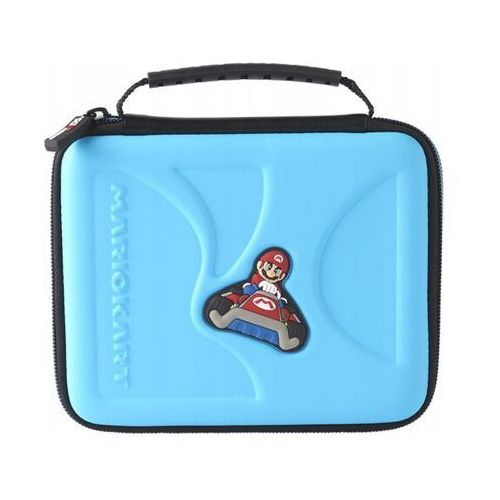 Etui BIG BEN Mario Kart Niebieskie do Nintendo 2DS/2DS XL/3DS XL (0663293110124)