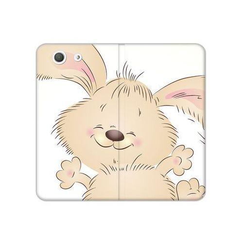 Sony xperia z3 compact - etui na telefon flex book fantastic - szczęśliwy królik marki Etuo flex book fantastic