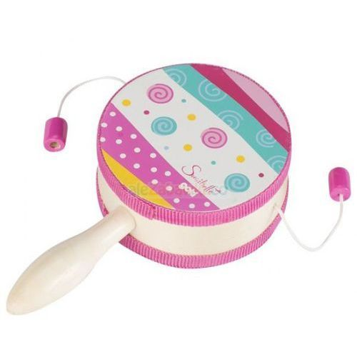 Bajkowy bębenek z rączką, zabawka muzyczna,  61904 marki Goki