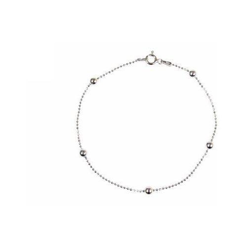 Bransoletka srebrna sb.012.01 biżuteria damska ze srebra marki Saxo