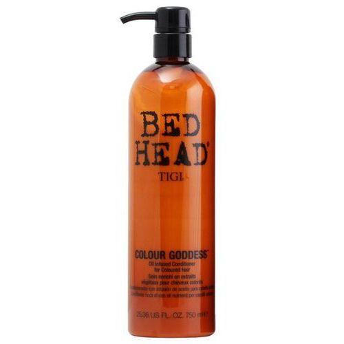 TIGI BED HEAD COLOUR GODDESS - Odżywka do włosów farbowanych dla brunetek 750 ml