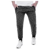 Spodnie joggery dresowe NQE8079 - czarna, w 6 rozmiarach